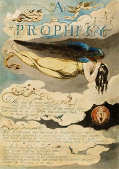 William Blake | Europe: A Prophecy | 1794 | The Morgan Library & Museum