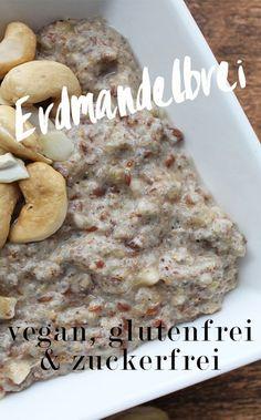 Chufa Erdmandelbrei ~ vegane, glutenfreie und zuckerfreie Frühstücks-Idee
