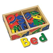 Melissa and Doug magnetic letters (upper and lower case)