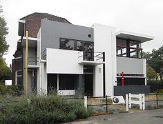 Casa Schroeder -  Utrecht (Países Bajos) - 1924 -Gerrit Rietveld