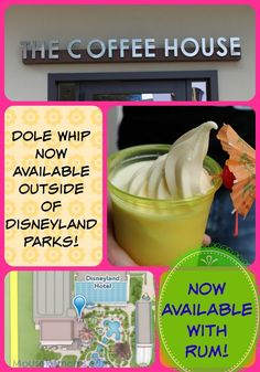 ANNOUNCING: Dole Whip is Now Available OUTSIDE of Disneyland Parks (and it has a rum option)!