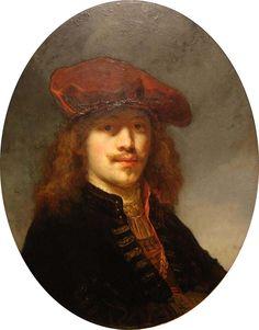 Govert Flinck (* 25. Januar 1615 in Kleve; † 2. Februar 1660 in Amsterdam) Zelfportret, Kunst Ideeën, Ferdinand, Afbeeldingen, Schilderij, Holland, Barok, Museum, Kunstenaar