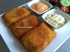 Kip soufflé van wit brood (Chicken soufflé)