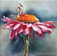 Hand-painted Still Life Oil Painting - Floral Christmas Gift