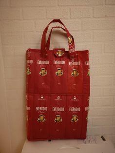Sewn bag of coffee bags Coffee Bags, Reusable Tote Bags, Sewing, Classic, Fashion, Moda, Needlework, Fashion Styles, Coffee Sachets
