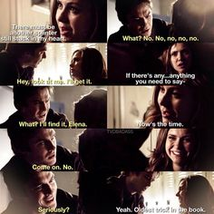 """#TVD 6x11 """"Woke Up With a Monster"""" - Elena and Damon"""