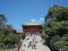 Tsurugaokahachimangu in Kamakura 鎌倉・鶴岡八幡宮 29.09.2013 Kamakura, Dolores Park, Scenery, Japan, Travel, Viajes, Landscape, Destinations, Traveling