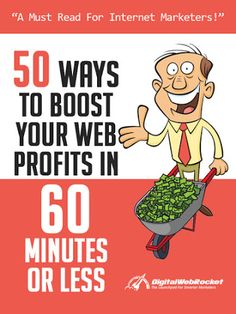 FREE - 50 Ways Report 50 Ways to boost your web profits in the next hour!