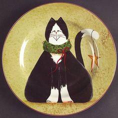 Sakura, Christmas Cats (Rim) at Replacements, Ltd