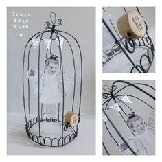 Cages fil de fer et papier 23