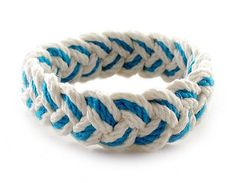 Sailor Knot Bracelet Blue & White
