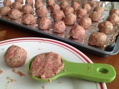 Italian Baked Meatball Recipe