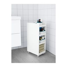 IKEA KLAMPEN trolley Easy to move - castors included. Perfect in a small bathroom. 38*25*75