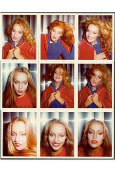Jerry Hall by photographer Antonio Lopez. Jerry Hall, Patti Hansen, Lauren Hutton, Disco Fashion, Back In The Game, Le Far West, Alfred Stieglitz, Vintage Beauty, Mannequins