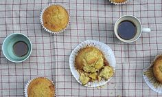 Ruby bakes: Ruby Tandoh demonstrates the art of baking simple but sublime lemon and marzipan cupcakes, and adds a floral tweak to the festive classic cherry stollen