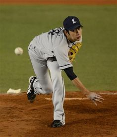 Ryouma Nogami tosses 5-plus scoreless frames with striking out 3 Marines as he picks up his 8th win of the season at QVC Marine Field on Friday, September 14, 2012.