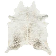 Cowhide Light Grey Rug from Dwell Studio Grey Rugs, Beige Area Rugs, Diy Carpet, Modern Carpet, Carpet Decor, Shag Carpet, Beige Carpet, Carpet Ideas, Wool Carpet