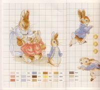 Gallery.ru / Фото #3 - Veronique Enginger. Le monde de Beatrix Potter - CrossStich