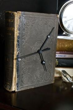 13 DIY Ideas How To Make Your Own Clock. If I can collect supplies this could be a great make and take Adult program