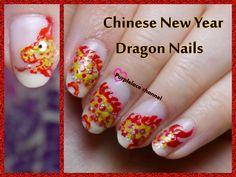 Dragon nails - full video tutorial : https://www.youtube.com/watch?v=-TI7gch6n-c