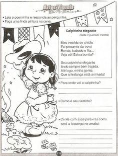 Pedagógiccos: Atividades para trabalhar a festa junina