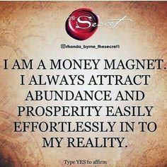 Positive Affirmations Quotes, Wealth Affirmations, Affirmation Quotes, Positive Quotes, Positive Thoughts, Positive Vibes, Manifestation Law Of Attraction, Law Of Attraction Affirmations, Millionaire Lifestyle