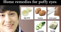 Egg Whites are another remedy for bags and puffiness