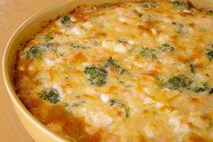 Laxpaj med broccoli och ädelost Här kommer ett recept på något som blev riktigt, riktigt gott! Jag tycker att lax och ädelost är jättego...