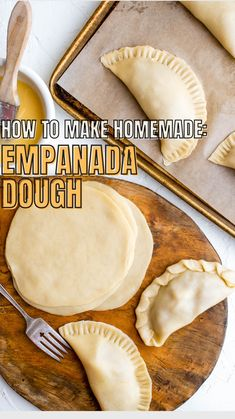 Appetizer Recipes, Dinner Recipes, Appetizers, Mexican Dishes, Mexican Food Recipes, How To Make Homemade, Food To Make, Empanada Dough, My Favorite Food