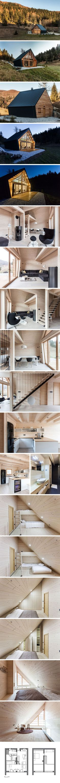 Деревянный дом в Словении от студии PIKAPLUS  #tinyhomesdigest #tinyhouse #ecohouse