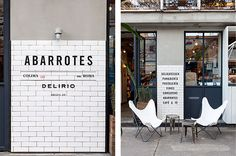 The use of concrete at Aborrotes Delirio in Mexico City. | 31 Coffeeshops And Cafés You Wish You Lived In