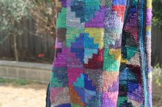 """from Japanese pattern book """"double sided knit scarves by Toshiyuki Shimada"""