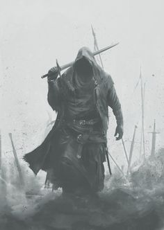 underground fantasy for your pleasure Fantasy Armor, Medieval Fantasy, Dark Fantasy Art, Dark Art, Fantasy Art Warrior, Dark Warrior, Viking Warrior, Fantasy Character Design, Character Art