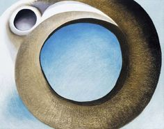 Georgia O'Keeffe, Goat's Horns with Blue