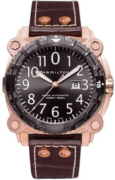H78525533 - Authorized Hamilton watch dealer - Mens Hamilton BelowZero, Hamilton watch, Hamilton watches