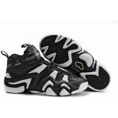 467970b256b Adidas Crazy 8 Mens Basketball Shoes in black and white