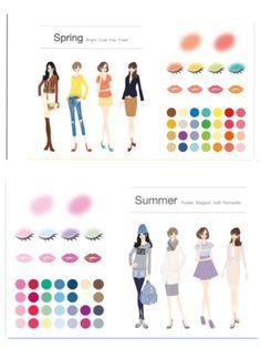 Soft Autumn, Four Seasons, Fashion Beauty, Hair Makeup, Photo Wall, Fragrance, Make Up, Spring, Cute