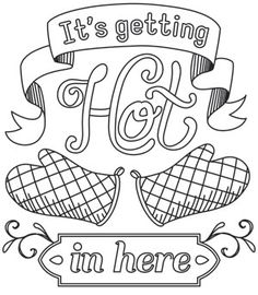 Spice It Up - It's Getting Hot in Here | Urban Threads: Unique and Awesome Embroidery Designs