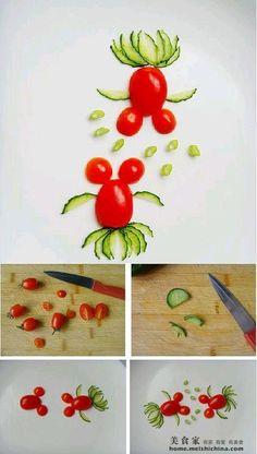 DIY Tomato Goldfish