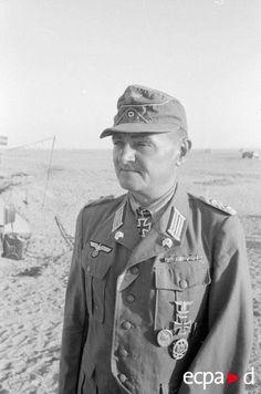 Oberst Gerhard Muller , commander 5th Panzer Regiment.