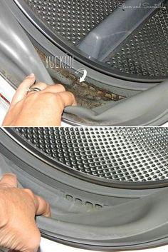 Çamaşır makinenizde biriken kirleri temizlemek için çamaşır suyu, sıcak su ve havlu kullanın.