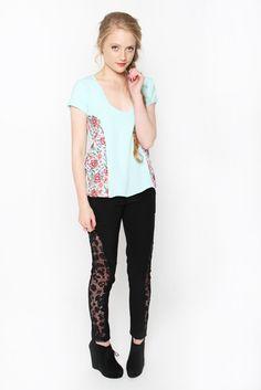 Gem Tee & Trinity Pants   Amber Whitecliffe Roads, Gem, Amber, Black Jeans, Pants, Women, Fashion, Trouser Pants, Moda