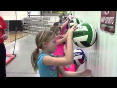 Jva Coach To Coach Video Of The Week Volleytots Drills Youtube Volleyball Drills For Beginners Volleyball Workouts Youth Volleyball