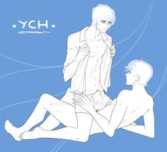 YCH  YAOI COUPLE AUCTION CLOSED by ych-cuties