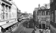 Photo of Kingston Upon Thames, Clarence Street Vintage London, Old London, London Art, West London, London History, Local History, British History, Richmond Upon Thames, Kingston Upon Thames