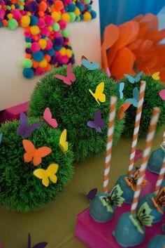 Butterfly Party | Candy Land, Cupcake, Farden Tea, Fairy & Rainbow Party DIY Decoration & Theme Ideas. Create Fun Kids Birthday Parties.