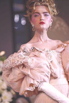 Vlada Roslyakova at Christian Dior Couture Fall 2007