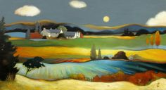 Lesley Mclaren - Warm Summer Fields