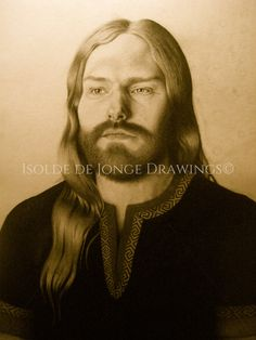 """""""Thor"""". Pencil on paper. 2013."""