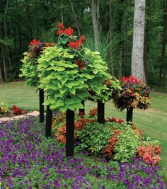 Side Planting Containers - Pretty sure this is the website of the container gardener whose book mom gave me.